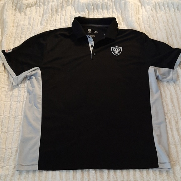 Nike Other - NFL Raiders Nike Dri-Fit Polo